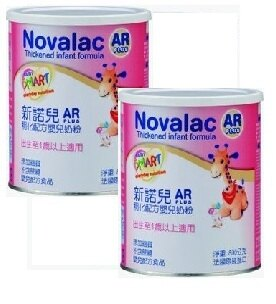 『121婦嬰用品館』(永信HAC) Novalac新諾兒AR稠化配方嬰兒奶粉800克 2罐組