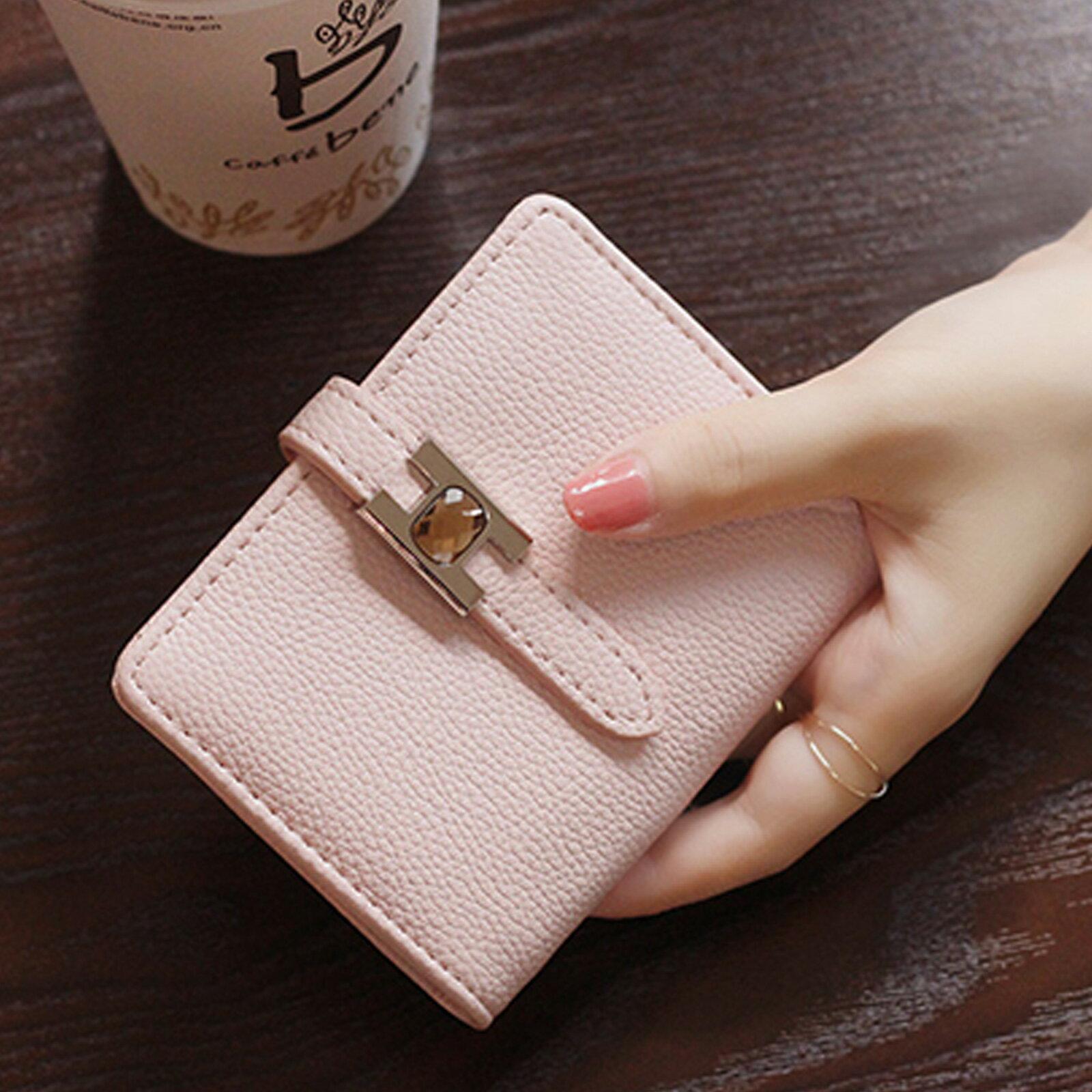 皮夾 錢包 超薄扣式短款錢包短夾【O3219】☆雙兒網☆ 2