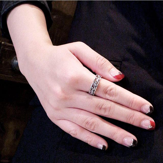 【海外訂購】【Bloody Mary】Favor 純銀戒指(鑲鑽款) (BMR1196-Wd) 4
