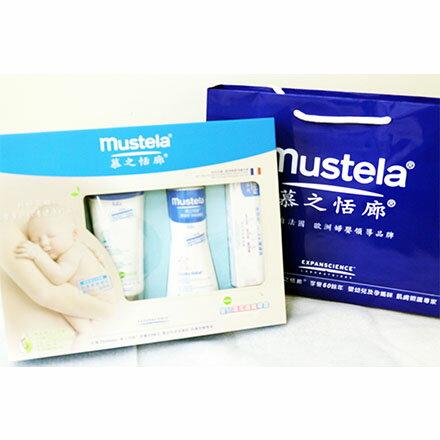 【敵富朗超巿】Mustela 慕之恬廊嬰兒清潔護膚禮盒