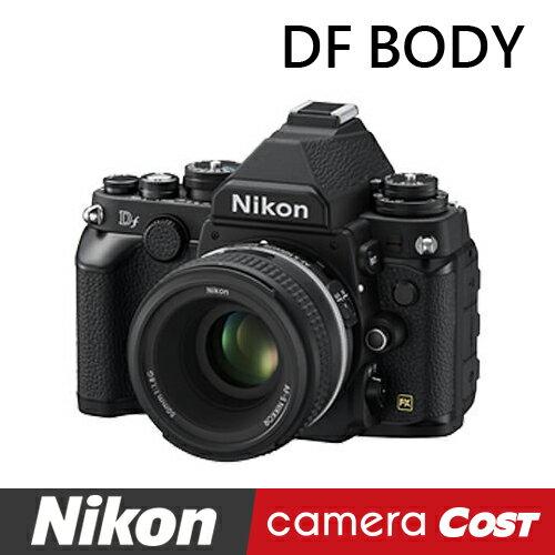 【福利品】NIKON Df 數位單眼相機 BODY 黑色 公司貨 登入再送原廠電池+64G記憶卡