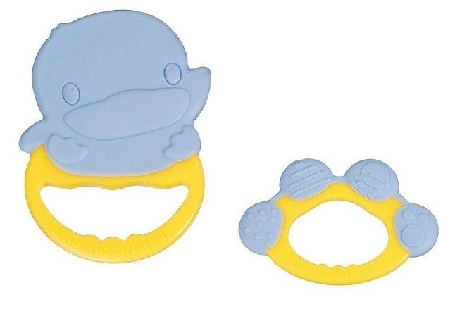 【全系列滿$500送夜燈玩具】台灣【Kuku 酷咕鴨】抗菌造型固齒器 - 限時優惠好康折扣