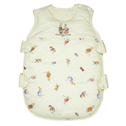 『121婦嬰用品館』狐狸村 精梳棉嬰幼兒冬夏兩用睡袍 1