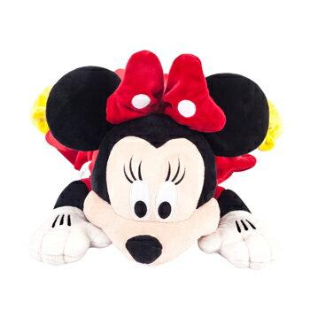 【禾宜精品】迪士尼 米妮 多功能玩偶毯 玩偶 毛毯 枕頭 Zoobies Disney Minnie YZB110