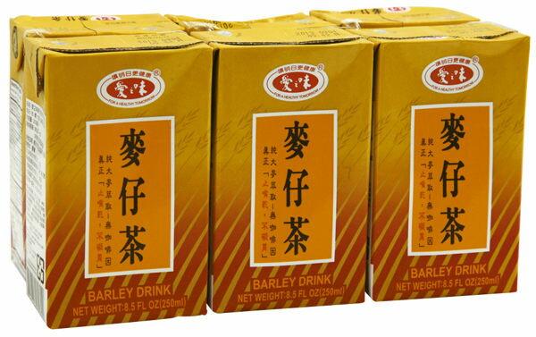 愛之味麥仔茶300ml*6入【合迷雅好物商城】