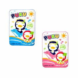 PUKU藍色企鵝 - 超柔防濕墊 55x80cm (水藍/粉紅) 0
