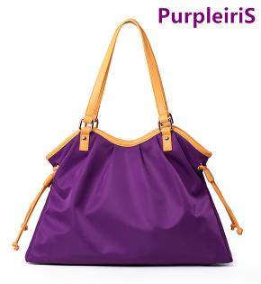 【鳶尾紫】紫色包包 紫色女包 輕便 後背包  最新款女包 尼龍女包 女士手提包單肩包斜跨包牛津布包潮流輕便防水防盜耐刮 現貨