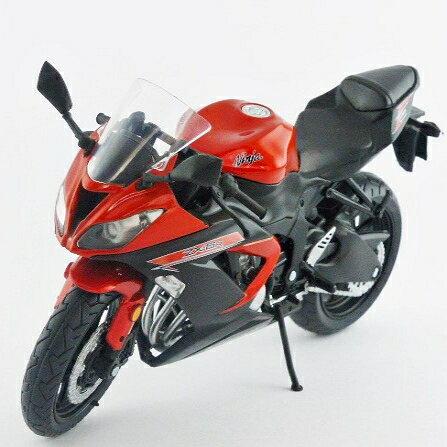 【秋葉園 AKIBA】日本限定品 kawasaki ninja ZX-6R 2014model 摩托車模型 1/12scale 適合一般尺寸公仔 0