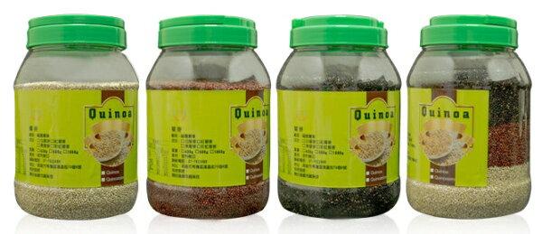 福園 有機藜麥粒 1000g買7瓶送1瓶 高原印加麥(黑/白/紅/彩虹) 通過SGS 農藥檢驗