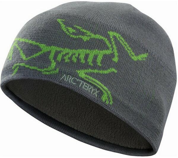 Arcteryx 始祖鳥 登山毛帽/滑雪/羊毛保暖帽 Bird Head 5681 船灰/羅德蛙綠 Arc'teryx