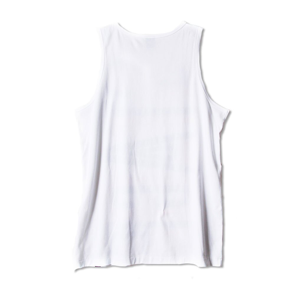 STAGE HOLLOW FONT TANK TOP 黑色/白色 兩色 3