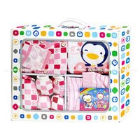 彌月禮盒推薦藍色企鵝 PUKU 彌月禮盒 新生兒禮盒 7件組 29801