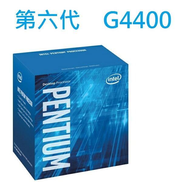 INTEL Pentium G4400 處理器 (3M Cache, 3.30 GHz)