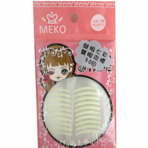 ◆貝拉美人◆MEKO M-067 魅眼七彩雙眼皮貼 (30回)