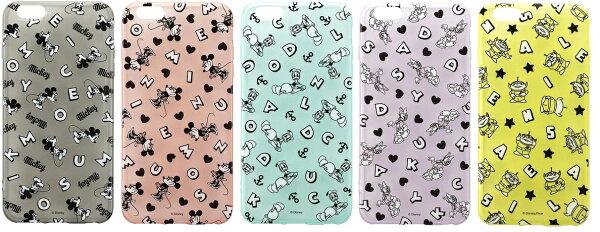 PGA 日本迪士尼授權 iPhone 6 PLUS 5.5吋 透明 繽紛系列 保護殼 米奇 米妮 唐老鴨 黛西 三眼怪
