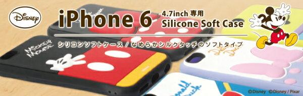 PGA iJacket iPhone 6 4.7 迪士尼 米奇 米妮 唐老鴨 黛絲 三眼怪 可愛 矽膠 保護殼