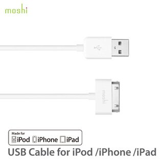 Moshi USB cable 傳輸線 30pin iPod/iPhone/iPad 通用款