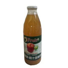 歐芙100%有機蘋果原汁/蘋果汁6大罐 +納圖拉橄欖油 送瀉鹽