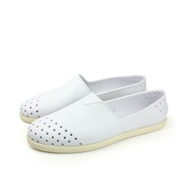 native VERONA 洞洞鞋 白 男女款 no471
