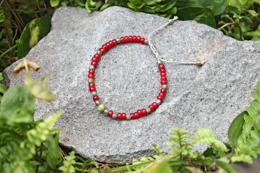 【現貨商品】【M.Cohen】土耳其熱帶串珠手環 (MC-B-10289-MIX-RED 0839600201) 0