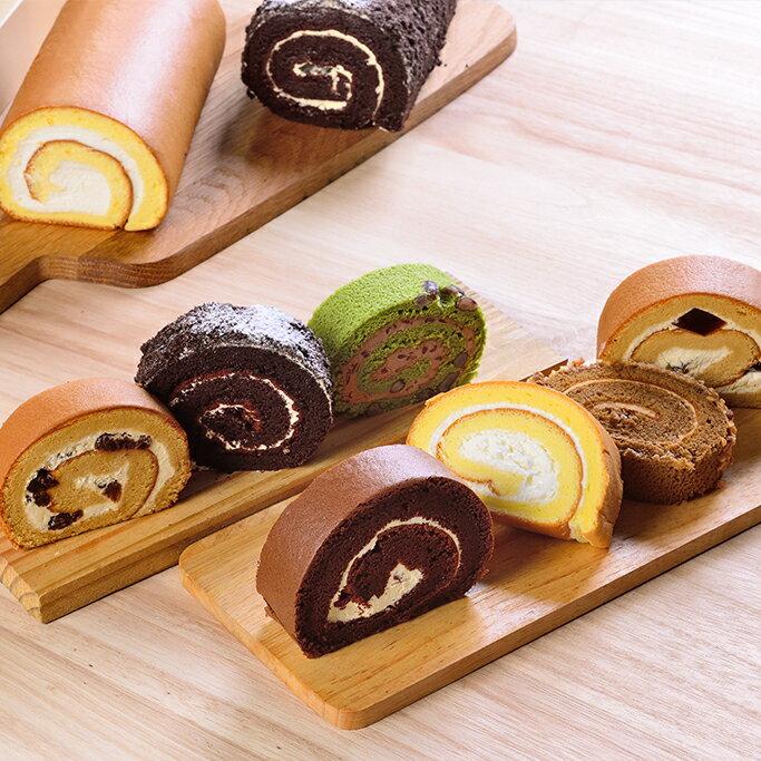 日式手作蛋糕捲.口味任選2入★彌月禮★食尚玩家、蘋果日報 等推薦【布里王子】 1