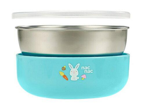 nac nac - 寶寶不鏽鋼四件餐具組 1