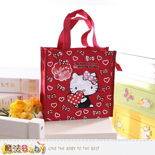 Hello Kitty授權正版直式便當袋 魔法Baby~f0171
