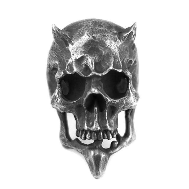 【海外訂購】【MAD CULT】獨裁撒旦骷髏純銀戒指(MAD-R-10) 3