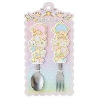 雙子星周邊商品推薦到雙子星星光大道不鏽匙叉餐具組_亞迪