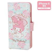 美樂蒂My Melody周邊商品推薦到美樂蒂iPhone6皮革筆記本型手機套_亞迪
