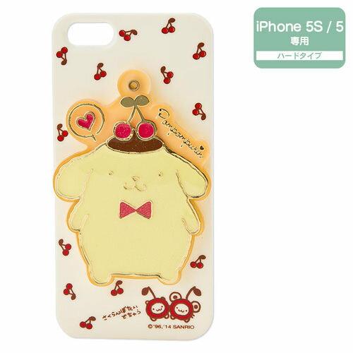 【布丁狗】iPhone5/5s保護殼(附滑蓋鏡)