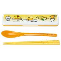 愚人節 KUSO療癒整人玩具周邊商品推薦蛋黃哥日本製匙筷餐具組_亞迪