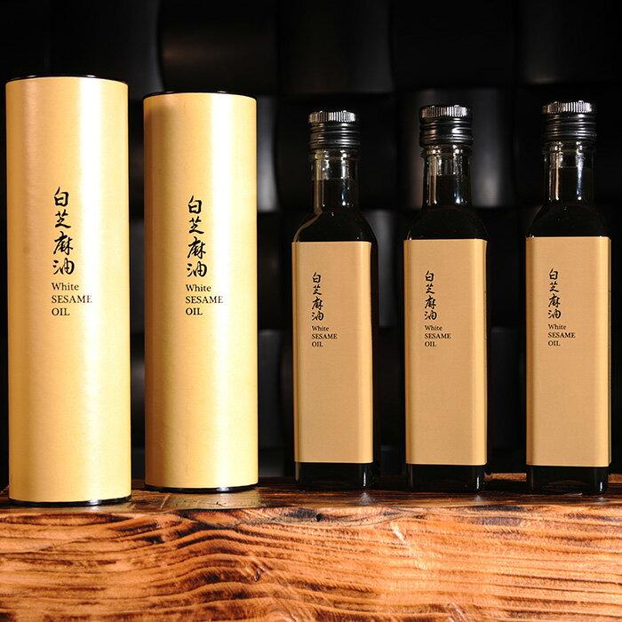 【九品元】特選冷壓白芝麻油(250ml/瓶) x1瓶 4