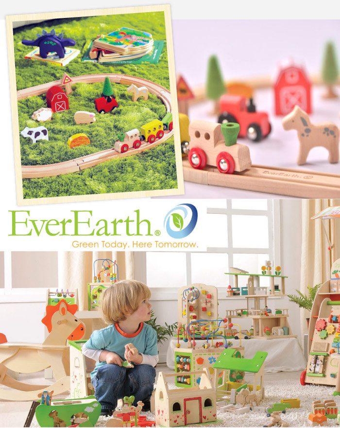 德國EverEarth環保成長木玩-開心農場軌道組 2