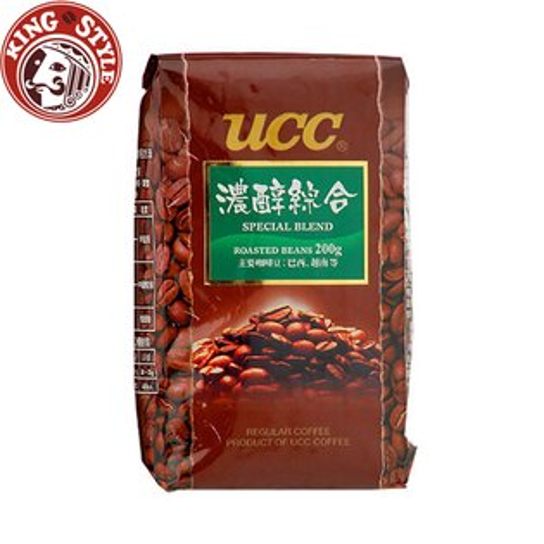 金時代書香咖啡【UCC】濃醇綜合咖啡豆200g