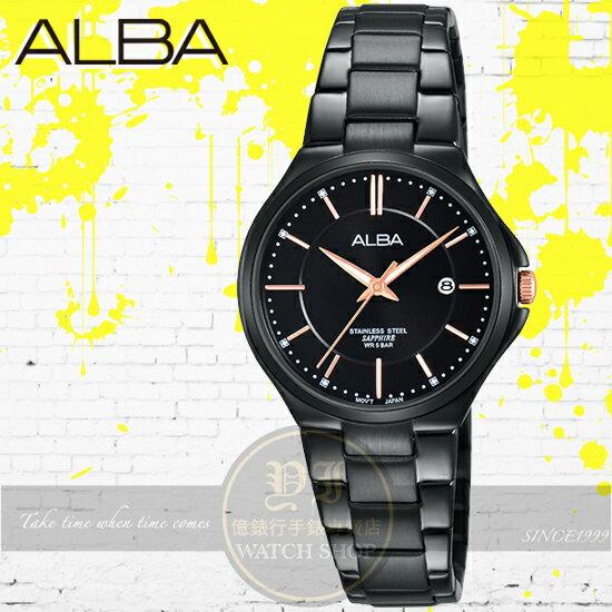 ALBA 劉以豪代言簡約風潮時尚腕錶VJ22-X226K/AH7L37X1公司貨/情人節禮物