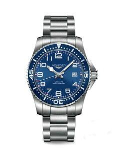 LONGINES L36954036深海征服者潛水機械腕錶/藍面藍圈41mm