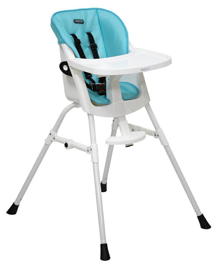 ViViBaby - 蜂巢式立體座墊高低兩段高腳餐椅 7
