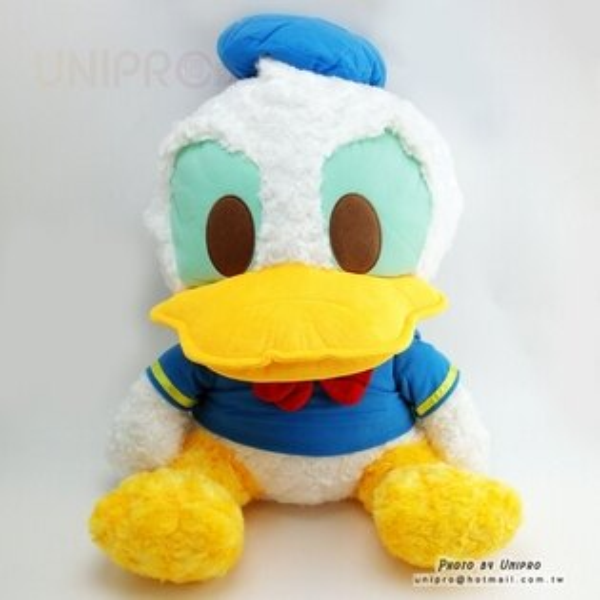 【UNIPRO】迪士尼正版 唐老鴨 Donald Duck 50公分 玫瑰絨 坐姿 絨毛玩偶 娃娃 禮物