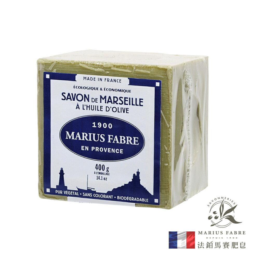 法國法鉑-橄欖油經典馬賽皂/400g