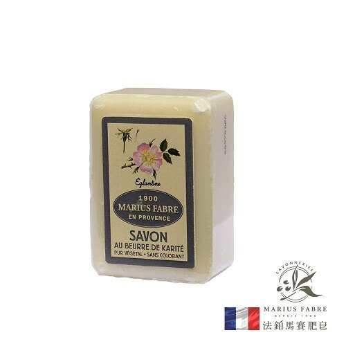 【MARIUS FABRE】法鉑天然草本野玫瑰棕櫚皂150g