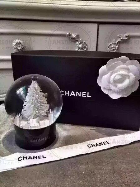 Chanel 香奈兒 小香 VIP 聖誕節 雪花 聖誕樹 贈品 送禮 情人節 水晶球 0