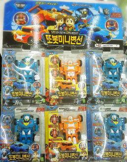 韓國進口【TOBOT 機器戰士 變形機器人 X / Y】