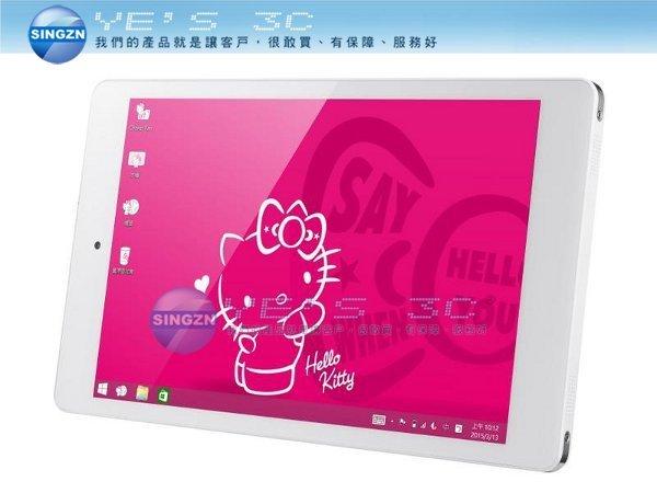 「YEs 3C」 GenPad 8 I08T3W Hello Kitty 凱蒂貓 平板電腦 獨家設計kitty icon 四款桌布設計 免運 yes3c