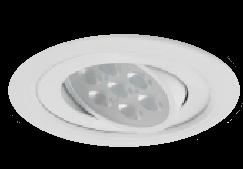 亞帝歐★12公分 崁燈 可調崁燈 LED 7W 全電壓 白光/黃光★永旭照明U2J0-AD-0801%