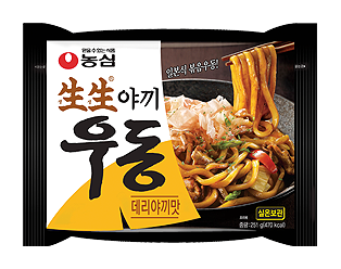 【韓新館】農心 生生乾燒烏龍風味麵(照燒口味)