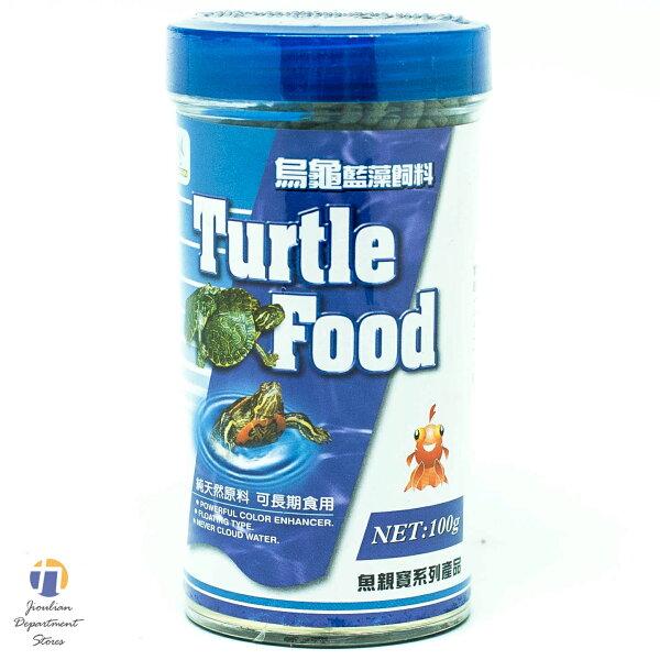 {九聯百貨} 烏龜藍藻飼料 特級品 100g