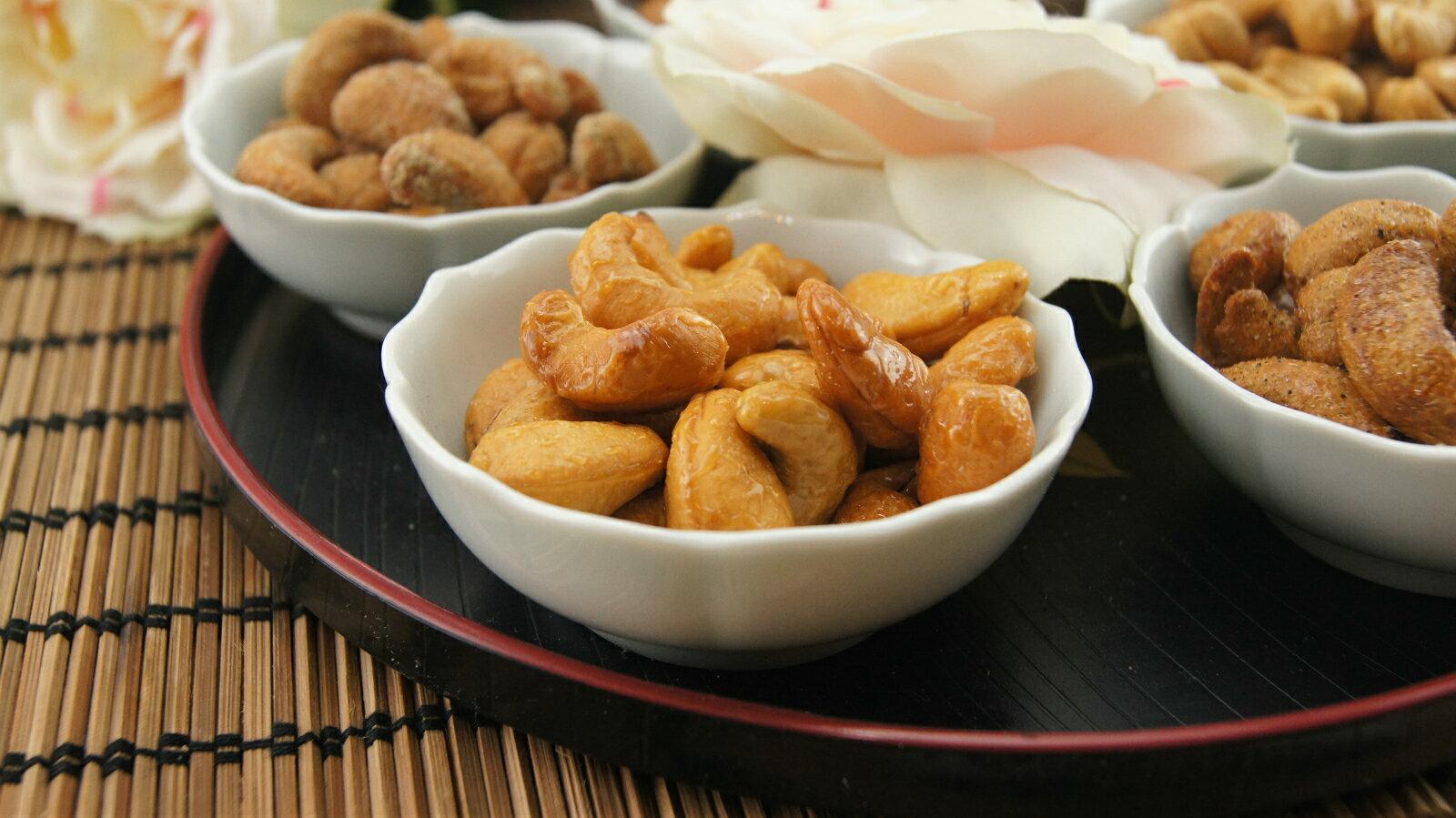 《東來腰果》【袋裝300g-蜜汁】~香酥清脆超甘甜 2