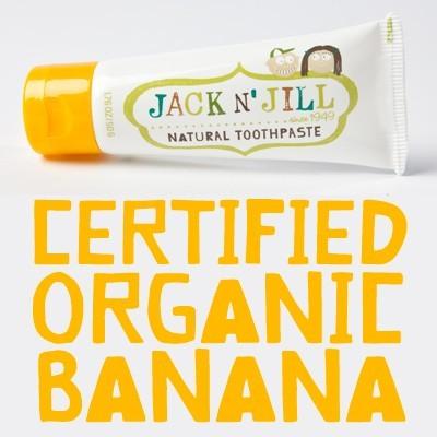 【澳洲 Jack n'Jill】Jack and Jill 金盞花天然兒童牙膏 (香蕉口味)