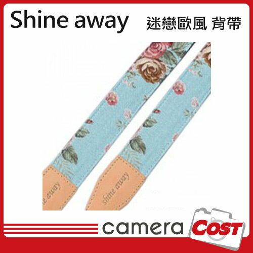 shine away 手工真皮相機背帶 迷戀歐風-窄版 類單GF3 GF2 GX1 XZ1 RX100 0